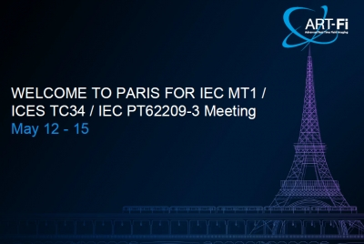 IEC 62209-3 meeting in Paris on May 12 - 15, 2015 | Hosted by Art-Fi